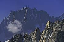 Aiguille Verte, Massif of Mont-Blanc, Haute-Savoie, Alpes, ref ba0623-30GE
