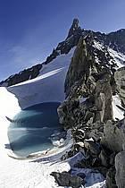 Col du Géant, Massif du Mont Blanc, Haute-Savoie, Alpes, ref ba2885-06LE