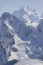 Arête du Plan, Leschaux, Mont Dolent, Massif du Mont Blanc, Haute-Savoie, ref bb061211GE