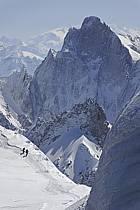 Arête du Plan, Grandes Jorasses, Massif du Mont Blanc, Haute-Savoie, ref bb061213GE