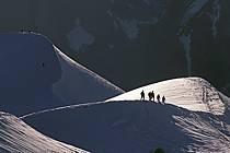 Arête Midi-Plan, Massif of Mont-Blanc, Haute-Savoie, Alpes, ref bb0811-17GE