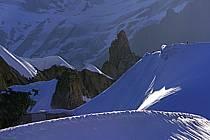 Arête de Midi-Plan, Mont Blanc, Haute-Savoie, Alpes, ref bb0811-19LE