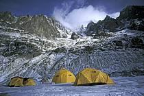 Bivouac, Mer de Glace, Massif of Mont-Blanc, Haute-Savoie, Alpes, ref bb2801-09GE