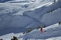 Speed flying (speed riding), Les Arcs, Savoie, Alpes, ref cc060022GE
