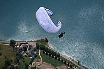 Parapente acrobatique, Annecy, Haute-Savoie, ref cc2442-20GE