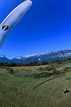 Paragliding acrobatic, Annecy, Haute-Savoie, ref cc2483-08GE