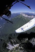 Paragliding acrobatic, Annecy, Haute-Savoie, ref cc2498-11GE