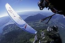 Paragliding acrobatic, Annecy, Haute-Savoie, ref cc2498-13GE