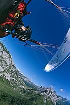 Paragliding acrobatic, Annecy, Haute-Savoie, ref cc2498-17GE