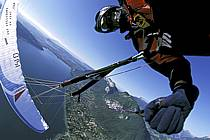 Paragliding acrobatic, Annecy, Haute-Savoie, ref cc2498-27GE