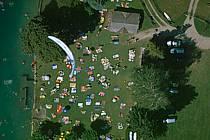 Paragliding acrobatic, Annecy, Haute-Savoie, ref cc2499-17GE