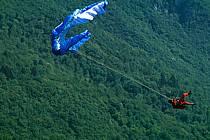 Paragliding acrobatic, Annecy, Haute-Savoie, ref cc2535-26GE