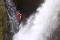 Canyoning, Canyon de Mujib, ref cd070662GE