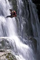 Canyoning, Cascade du Hérisson, Jura, ref cd2047-05GE