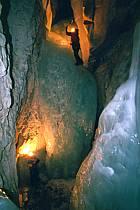 Spéléologie glacière, Grande Glacière, Parmelan, Haute-Savoie, ref ce2208-06GE
