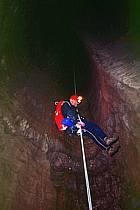 Grotte de La Diau, Parmelan, Haute-Savoie, ref ce2552-15GE