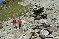 Cairn, Le Brévent, Chamonix, Haute-Savoie, Alpes, ref cg055519LE