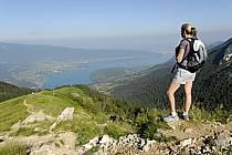 Randonnée à la Tournette, lac d'Annecy, Haute-Savoie, Alpes, ref cg062495LE