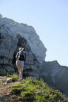 Randonnée à la Tournette, Haute-Savoie, ref cg062504GE