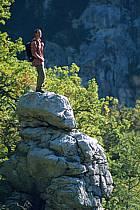 Sentier Martel, Gorges du Verdon, Var, ref cg2573-12GE