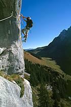 Via Ferrata des Aravis, Haute-Savoie, Alpes, ref cj2574-26GE