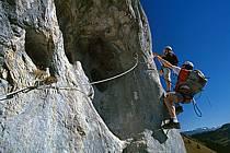 Via Ferrata des Aravis, Haute-Savoie, Alpes, ref cj2574-31GE