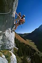 Via Ferrata des Aravis, Haute-Savoie, Alpes, ref cj2574-34GE