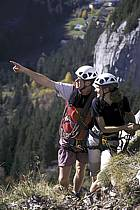 Via Ferrata des Aravis, Haute-Savoie, Alpes, ref cj2575-05GE