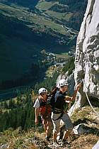 Via Ferrata des Aravis, Haute-Savoie, Alpes, ref cj2575-08GE