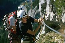 Via Ferrata des Aravis, Haute-Savoie, Alpes, ref cj2575-09GE