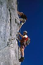 Via Ferrata des Aravis, Haute-Savoie, Alpes, ref cj2575-20GE