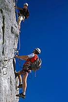 Via Ferrata des Aravis, Haute-Savoie, Alpes, ref cj2575-21GE