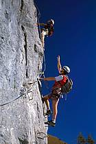 Via Ferrata des Aravis, Haute-Savoie, Alpes, ref cj2575-24GE
