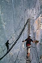 Via Ferrata des Aravis, Haute-Savoie, Alpes, ref cj2576-02GE