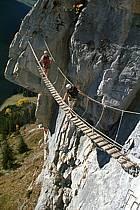 Via Ferrata des Aravis, Haute-Savoie, Alpes, ref cj2576-19GE