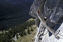 Via Ferrata des Aravis, Haute-Savoie, Alpes, ref cj2576-22GE