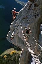 Via Ferrata des Aravis, Haute-Savoie, Alpes, ref cj2576-30GE