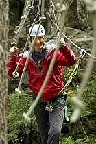 Parcours-aventure des Saisies, Beaufortain, Savoie, Alpes, ref ck042408GE