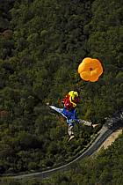 Base-jumping, Vercors, Alpes, ref cl055835GE