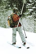Skiing, Les Arcs, Savoie, Alpes, ref da070101GE