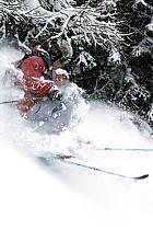 Skiing, Les Arcs, Savoie, Alpes, ref da070102GE