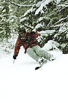 Skiing, Les Arcs, Savoie, Alpes, ref da070104GE