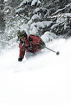 Skiing, Les Arcs, Savoie, Alpes, ref da070105GE