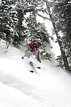 Skiing, Les Arcs, Savoie, Alpes, ref da070107GE