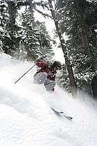 Skiing, Les Arcs, Savoie, Alpes, ref da070108GE