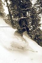 Skiing, Les Arcs, Savoie, Alpes, ref da070109GE