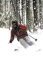 Skiing, Les Arcs, Savoie, Alpes, ref da070111GE