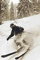 Skiing, Les Arcs, Savoie, Alpes, ref da070135GE