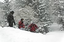 Skiing, Les Arcs, Savoie, Alpes, ref da070136GE