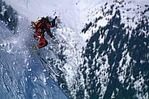 Ski-freeride, Chamonix / Les Grands Montets, Haute-Savoie, Alpes, ref da1142-16GE